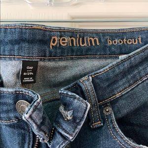 GAP premium boot cut jeans